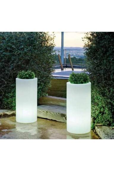 Flower pot, Palma 70 Light,...