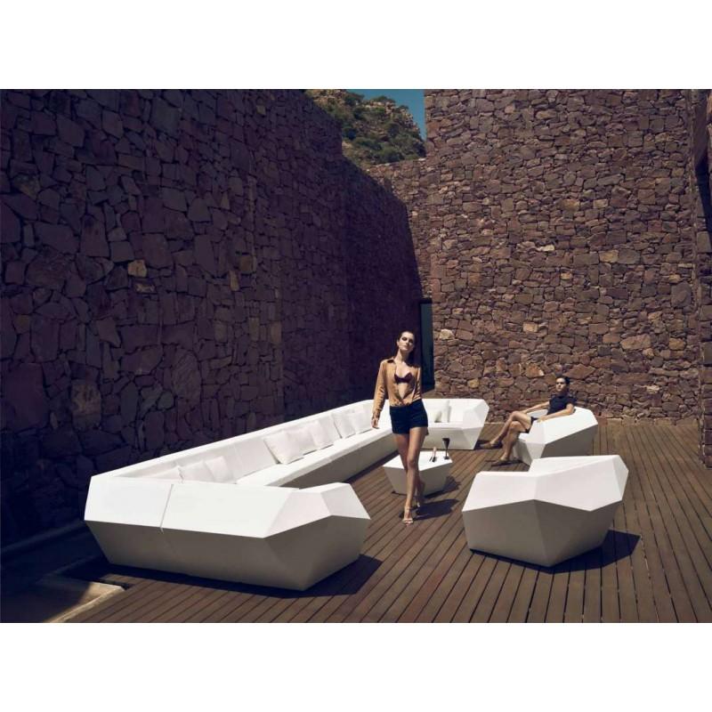 Faz sof vondom mobiliario exterior muebles terraza ram n for Sofas por modulos baratos