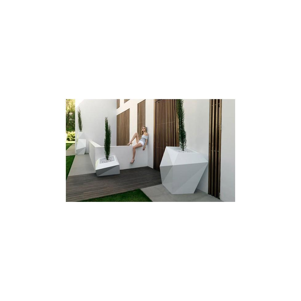 Faz xl vondom maceteros macetas jardines terrazas for Jardineria exterior con guijarros