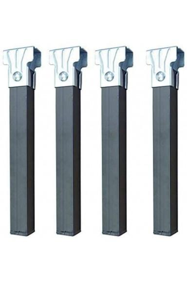 Square tube base metal legs...