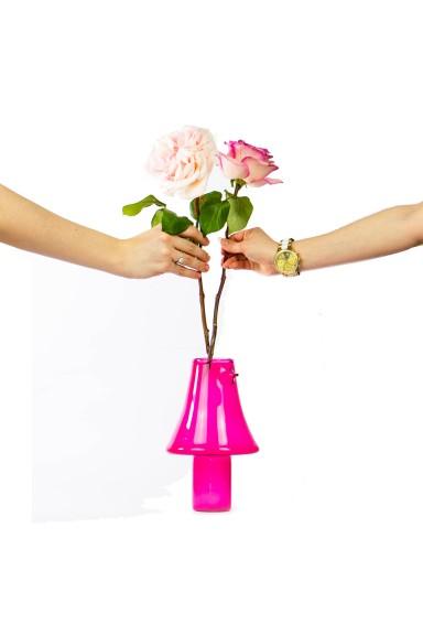 Handmade pink vase, Natural...