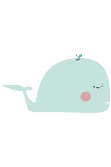 Children's vinyls whale,...