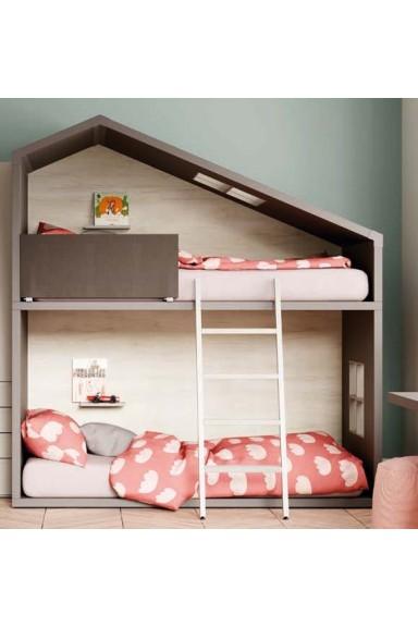 Bunk bed modular Cottage-...